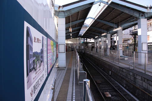 新静岡駅3番線ホーム新静岡方面