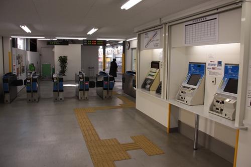 新静岡駅駅舎内