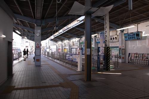 新静岡駅駅構内全景