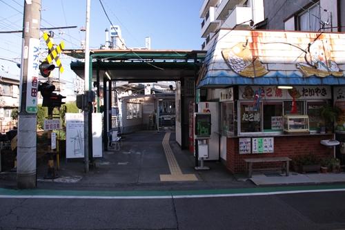 新清水駅西側入口
