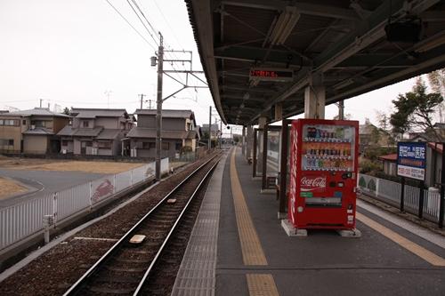 芝本駅新浜松方面