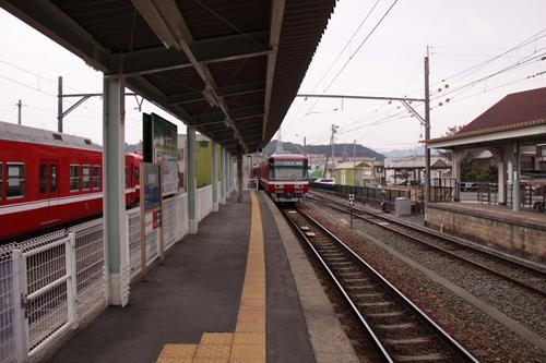 西鹿島駅2番ホーム終点側