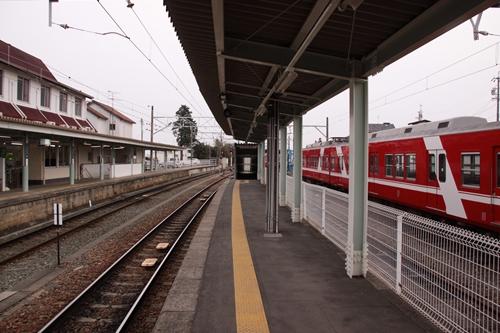 西鹿島駅2番ホーム新浜松方面