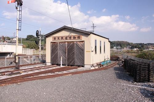 阿下喜駅軽便鉄道博物館