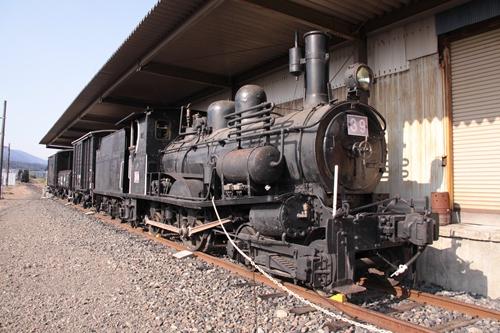 貨物鉄道博物館ブロック1留置車両全景その1