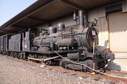 貨物鉄道博物館B4形39号前面