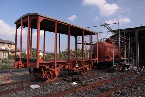 貨物鉄道博物館復元車両