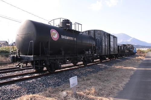 貨物鉄道博物館第二ブロック展示車両全景前