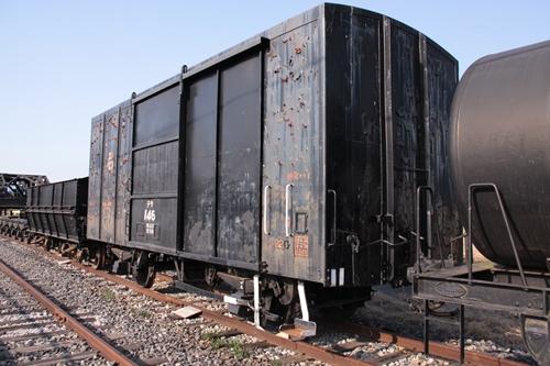 貨物鉄道博物館テラ1形146号背面