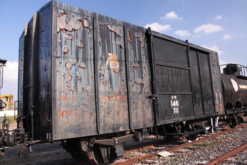 貨物鉄道博物館テラ1形146号正面
