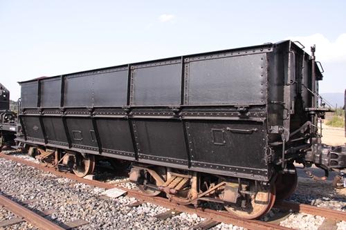 貨物鉄道博物館ホサ1形1号背面