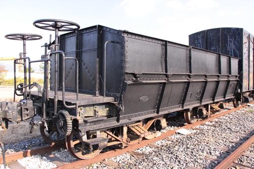 貨物鉄道博物館ホサ1形1号正面