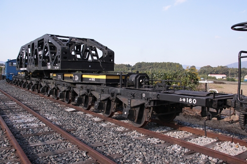 貨物鉄道博物館シキ160形160号背面