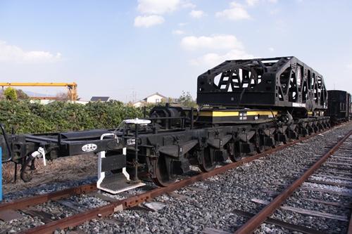 貨物鉄道博物館シキ160形160号正面