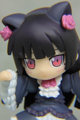 黒猫クローズアップ