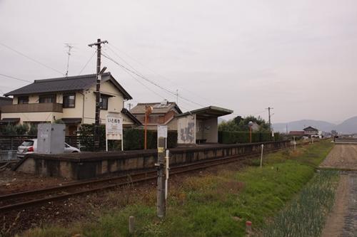 樽見鉄道糸貫駅全景