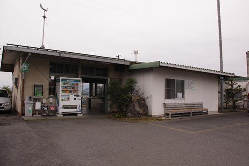 樽見鉄道本巣駅駅舎