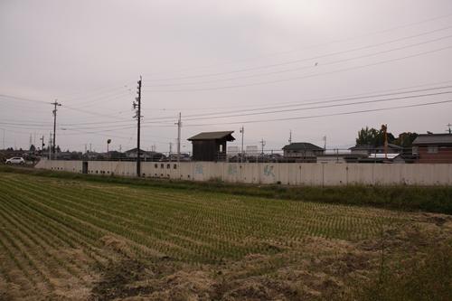 樽見鉄道織部駅全景