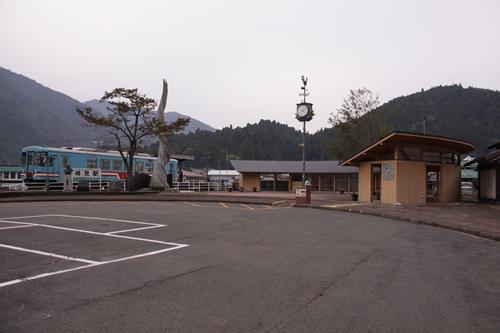 樽見鉄道樽見駅全景