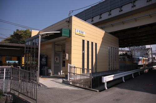 在良駅駅舎
