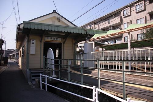 馬道駅駅舎