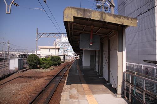 西桑名駅ホーム西桑名方面