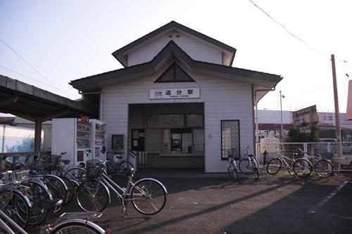 追分駅駅舎