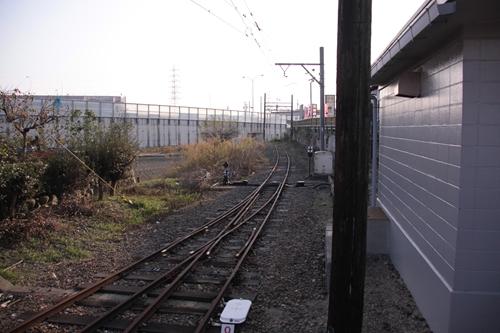 内部駅線路どん詰まり