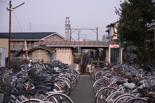 西日野駅全景