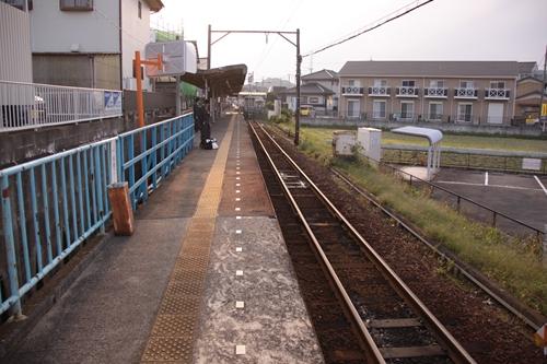 西日野駅ホーム西日野方面