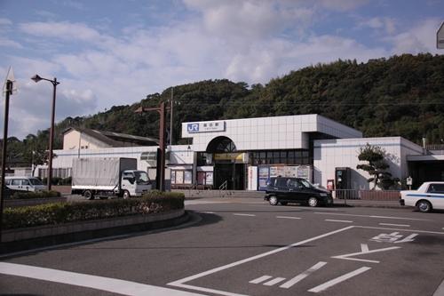 紀州鉄道御坊駅駅舎