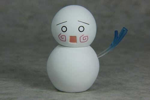 ねんどろ雪ミク付属雪だるま