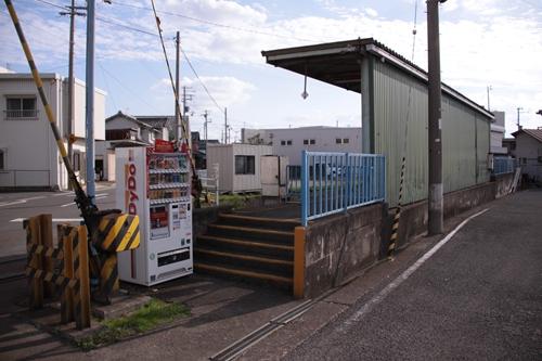 紀州鉄道学門駅