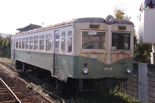 紀伊御坊駅留置車両