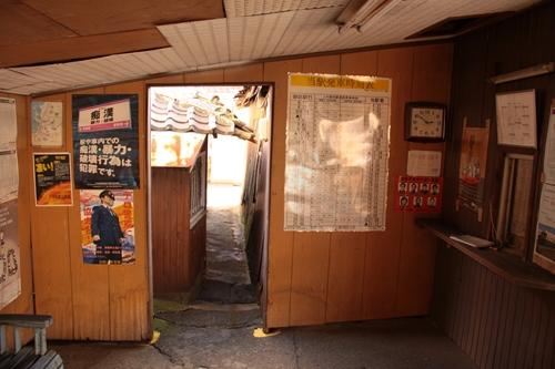 紀州鉄道線西御坊駅入り口その1