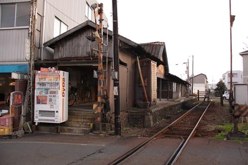 紀州鉄道線西御坊駅駅舎