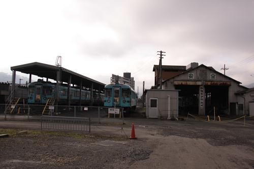 西舞鶴駅車両基地