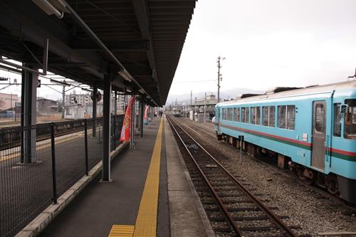 西舞鶴駅ホーム豊岡方面