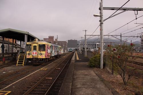 西舞鶴駅ホーム終点側