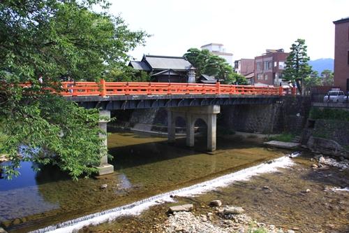 聖地巡礼 古い街並み中橋