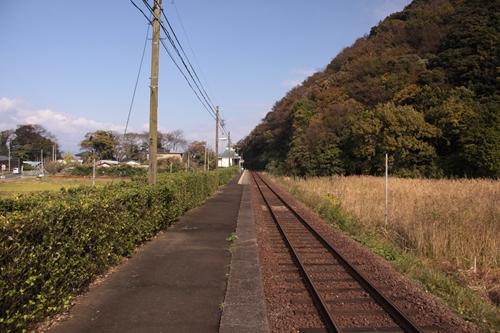丹後神崎駅ホーム豊岡方面
