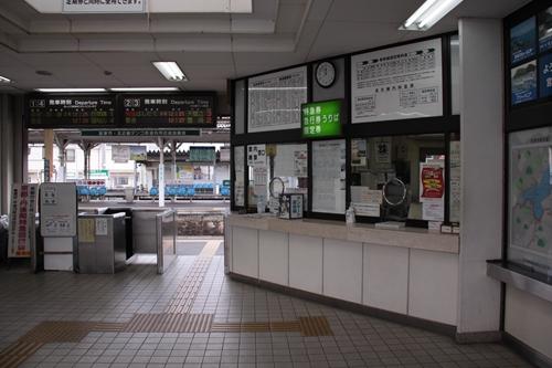 宮津駅駅舎内