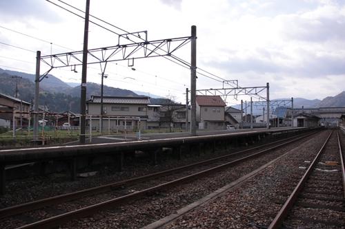 宮津駅2番線・3番線ホーム全景