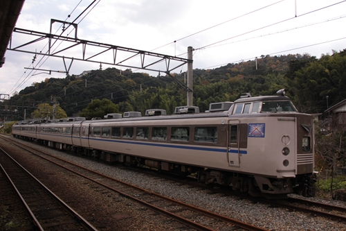 天橋立駅留置車両