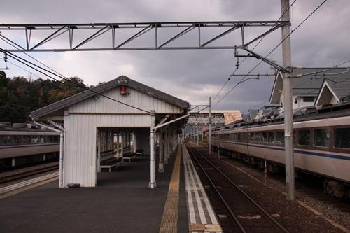 天橋立駅2番線・3番線ホーム待合所
