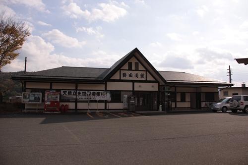野田川駅駅舎