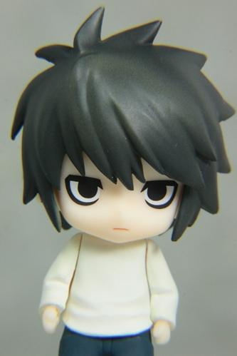 ねんぷちデスノートL(猫背)バストアップ