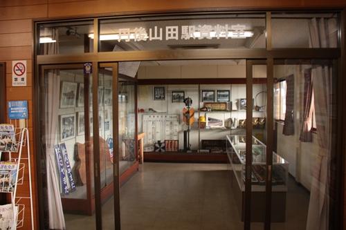 野田川駅資料室