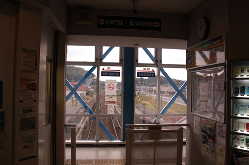峰山駅駅舎内その2