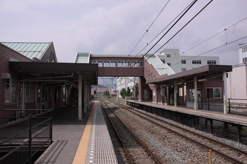 屋代高校前駅跨線橋